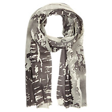 Buy Mint Velvet Heather Print Scarf, Multi Online at johnlewis.com