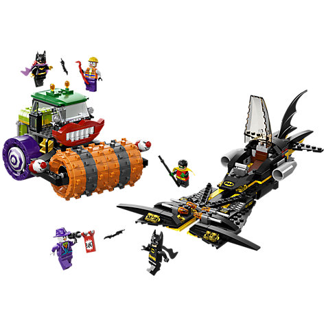 Buy LEGO Super Heroes Batman Joker Steam Roller Online at johnlewis.com