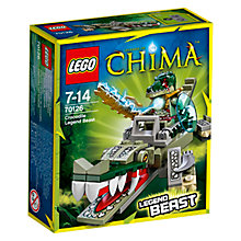 Buy LEGO Legends of Chima Crocodile Legend Beast Online at johnlewis.com