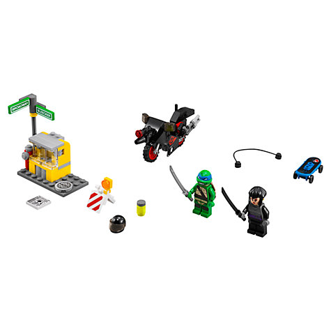 Buy LEGO Teenage Mutant Ninja Turtles Karai Bike Escape Online at johnlewis.com