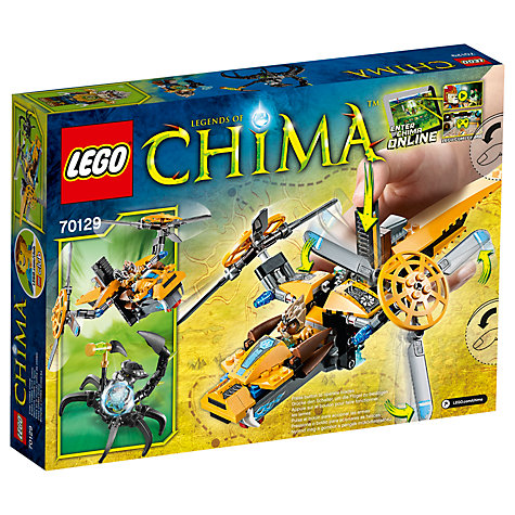 Buy LEGO Legends of Chima Lavertus's Twin Blade Helicopter Online at johnlewis.com