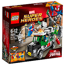 Buy LEGO Super Heroes Spider-Man Doc Ock Truck Heist Online at johnlewis.com