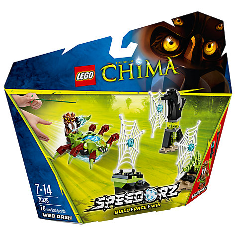 Buy LEGO Chima Speedorz Web Dash Online at johnlewis.com