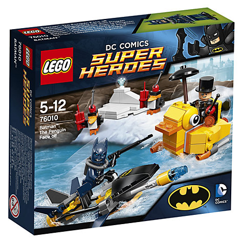 Buy LEGO Super Heroes Batman Penguin Face Off Online at johnlewis.com
