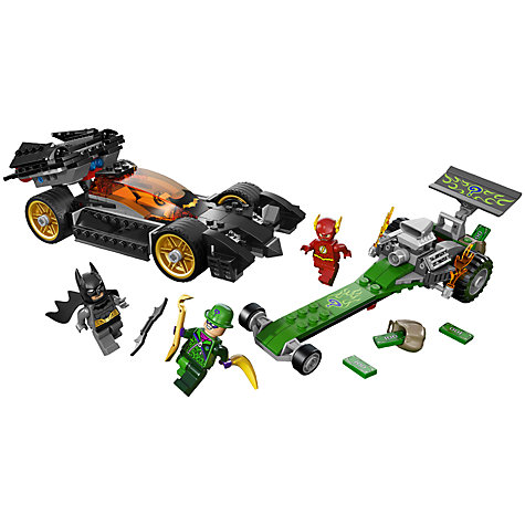 Buy LEGO Super Heroes Batman Riddler Chase Online at johnlewis.com