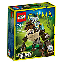 Buy LEGO Legends of Chima Gorilla Legend Beast Online at johnlewis.com