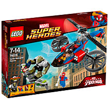 Buy LEGO Super Heroes Spider-Man Spider-Helicopter Rescue Online at johnlewis.com