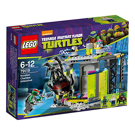 Buy LEGO Teenage Mutant Ninja Turtles Mutation Chamber Unleashed Online at johnlewis.com
