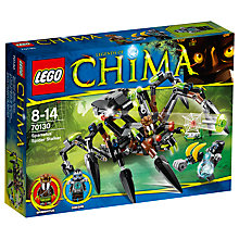 Buy LEGO Legends of Chima Sparratus's Spider Online at johnlewis.com