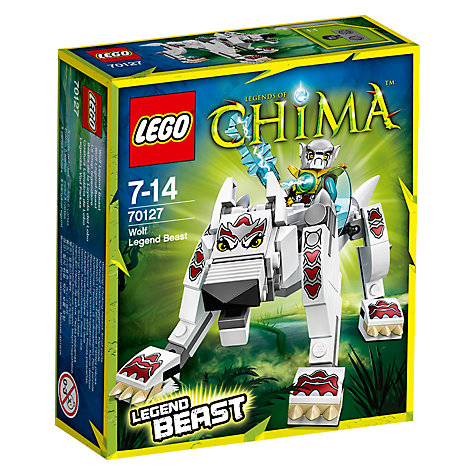 Buy LEGO Legends of Chima Wolf Legend Beast Online at johnlewis.com