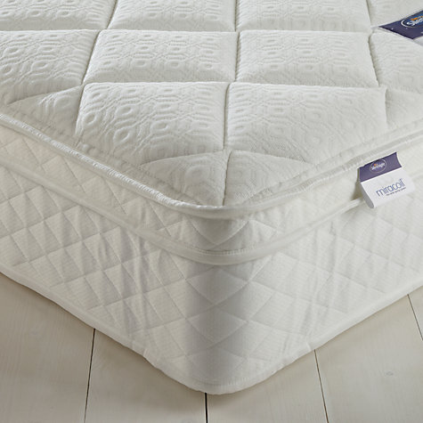 Buy Silentnight Special Miracoil Memory Mattress, Single Online at johnlewis.com