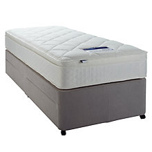 Buy Silentnight Miracoil Memory Mattress and Divan Set, Single Online at johnlewis.com