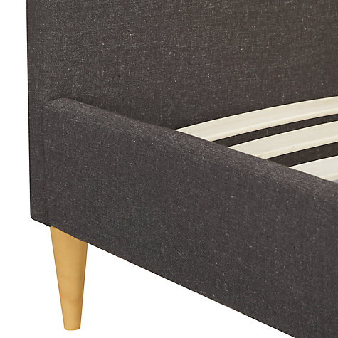 Buy House by John Lewis Jamie Bedstead, Grey, Double Online at johnlewis.com