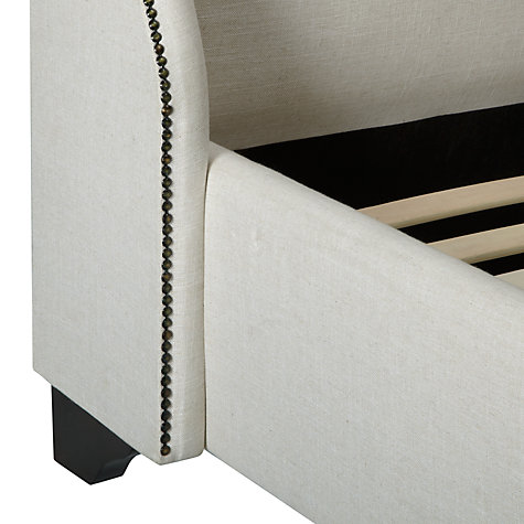 Buy John Lewis Faye Bedstead, Cream, Kingsize Online at johnlewis.com