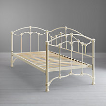 Buy John Lewis Daisy Day Bedstead, Single, Cream Online at johnlewis.com