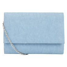 Buy COLLECTION by John Lewis Dita Pastel Clutch Handbag, Pastel Blue ...