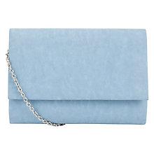 Buy COLLECTION by John Lewis Dita Pastel Clutch Handbag, Pastel Blue ...