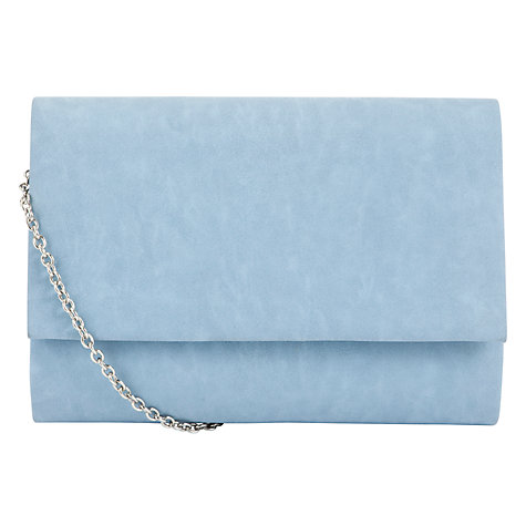 Buy COLLECTION by John Lewis Dita Pastel Clutch Handbag, Pastel Blue Online at johnlewis.com