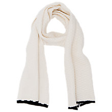 Buy French Connection Tammi Scarf, Willow White Online at johnlewis.com