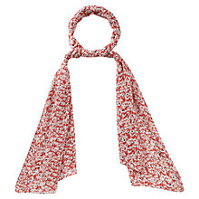 Buy Viyella Graphic Floral Scarf, Chilli Red Online at johnlewis.com