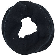 Buy French Connection Carla Snood, Black Online at johnlewis.com