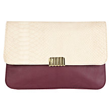 Buy Warehouse 3 Tone Clutch Online at johnlewis.com