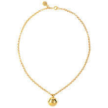 Buy Susan Caplan Vintage 1980s Celine Gold Plated Spherical Pendant Necklace Online at johnlewis.com