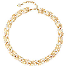 Buy Susan Caplan Vintage 1960s Trifari Gold Plated Faux Pearl Necklace Online at johnlewis.com