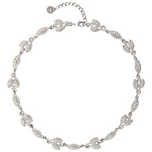 Buy Susan Caplan Vintage 1990s Givenchy Rhodium Plated Swarovski Crystal Necklace Online at johnlewis.com