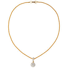 Buy Susan Caplan Vintage 1980s Swarovski Gold Plated Crystal Ball Pendant Online at johnlewis.com