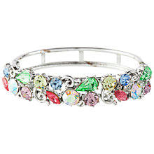 Buy Susan Caplan Vintage 1950s Lisner Pastel Swarovski Crystal Bangle, Multi Online at johnlewis.com