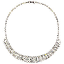 Buy Susan Caplan Vintage 1960s Silver Toned Crystal Necklace Online at johnlewis.com