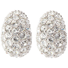 Buy Susan Caplan Vintage 1980s Swarovski Silver Plated Stud Earrings Online at johnlewis.com