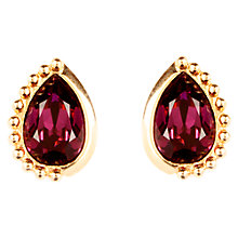 Buy Susan Caplan Vintage 1980s Christian Dior Gold Plated Swarovski Crystal Stud Earrings Online at johnlewis.com