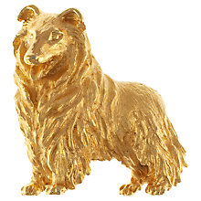 Buy Eclectica 1960s Trifari Gold Plated Dog Brooch Online at johnlewis.com