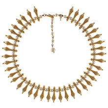Buy Eclectica 1960s Trifari Gold Plated Faux Pearl Necklace Online at johnlewis.com