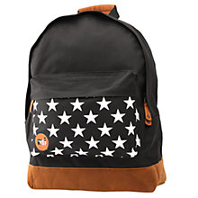 Buy Mi-Pac Stars Backpack, Black Online at johnlewis.com