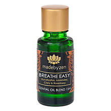 Buy madebyzen Purity Breathe Easy Scented Oil, 15ml Online at johnlewis.com