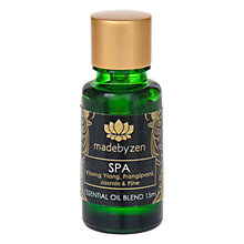 Buy madebyzen Purity Spa Scented Oil, 15ml Online at johnlewis.com