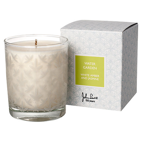 Buy John Lewis Water Garden Candle Online at johnlewis.com
