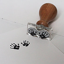 Buy StompStamps Miniature Handprint Pair Stamp Kit Online at johnlewis.com