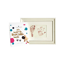 Buy StompStamps Magic Inkless Hand and Foot Imprint Kit Online at johnlewis.com