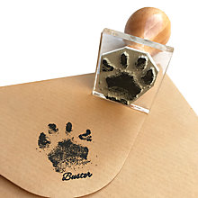 Buy StompStamps Personalised Buster Paw Print Stamp Kit Online at johnlewis.com