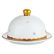 Buy John Lewis Country Parlour Butter Dish, Multi Online at johnlewis.com