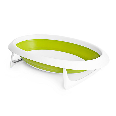 buy boon fold up baby bath lime john lewis. Black Bedroom Furniture Sets. Home Design Ideas