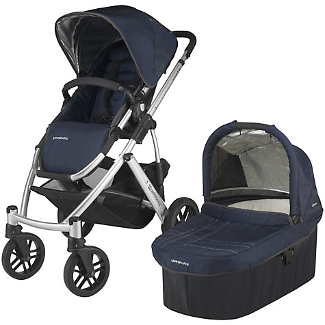 Buy Uppababy Vista Pushchair, Taylor Blue Online at johnlewis.com