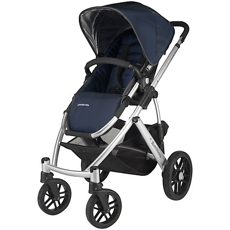Buy Uppababy Vista Pushchair and Carrycot, Taylor Blue Online at johnlewis.com