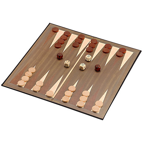 "Buy Jaques Backgammon 15"" Board Online at johnlewis.com"