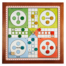 "Buy Jaques Ludo 23"" Luxury Board Game Online at johnlewis.com"