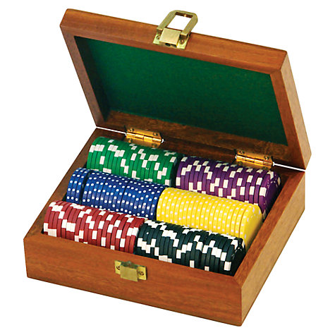 Buy Jaques 120 Deluxe Gaming Chips Set Online at johnlewis.com